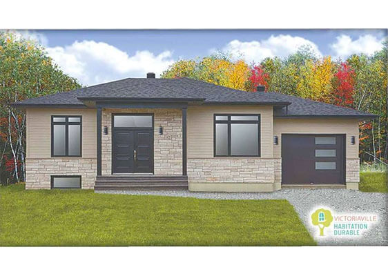 Construction de maison neuve victoriaville terrain for Entrepreneur construction maison